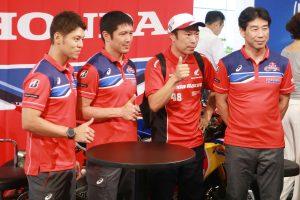 MotoGP | ホンダが青山で鈴鹿8耐ファンミーティング開催。ファンの前で5年ぶりの優勝誓う