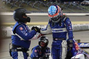 海外レース他 | 4時間遅れのレースで奮闘した佐藤琢磨。不運の追突に「最後の展開か楽しみだったのに残念」