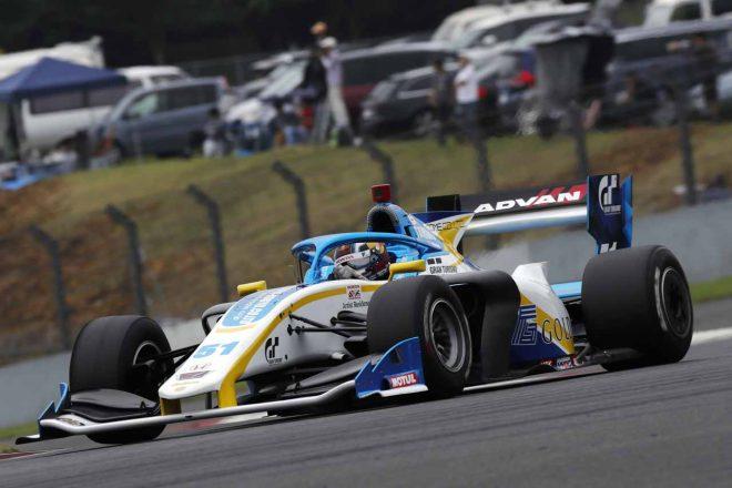 予選Q1走行中のハリソン・ニューウェイ(GOLDEX RACING TEAM with B-Max motopark)