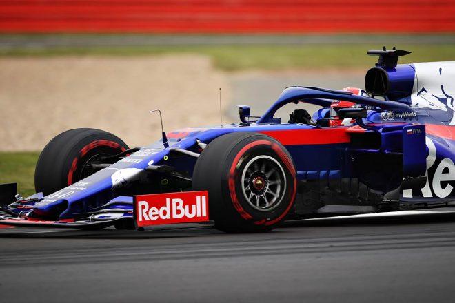 2019年F1第10戦イギリスGP ダニール・クビアト(トロロッソ・ホンダ)は9位入賞