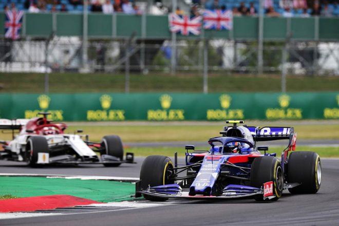 2019年F1第10戦イギリスGP 12位でフィニッシュしたアレクサンダー・アルボン(トロロッソ・ホンダ)