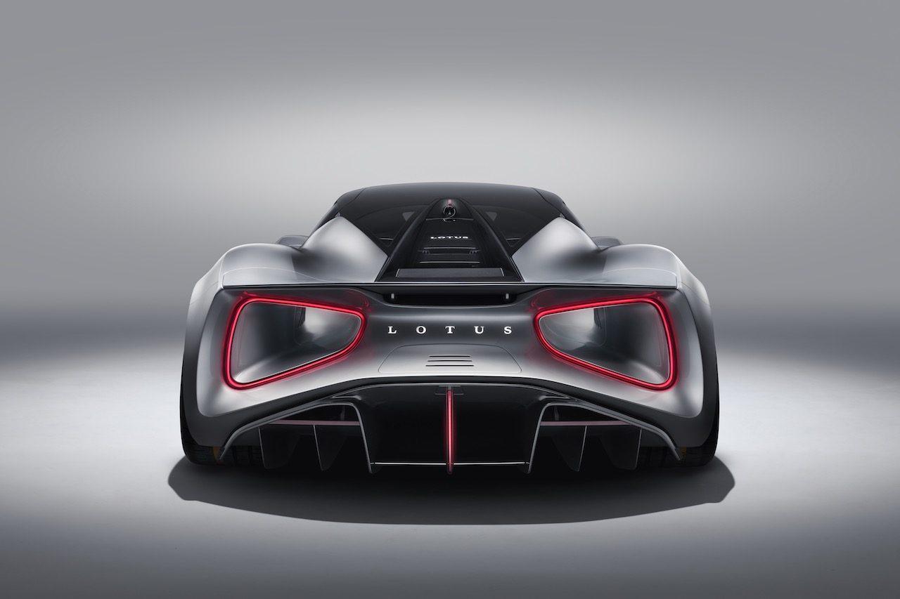 """イギリス初のEV""""ハイパーカー""""、『ロータス・エヴァイア』は2000PSを想定"""