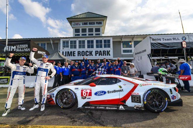 優勝したフォード・チップ・ガナッシ・レーシング