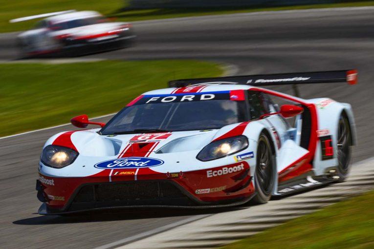 ル・マン/WEC | IMSA第8戦:3ピット戦略採ったフォードGTが逆転勝利。GTDでは最終周に首位交代