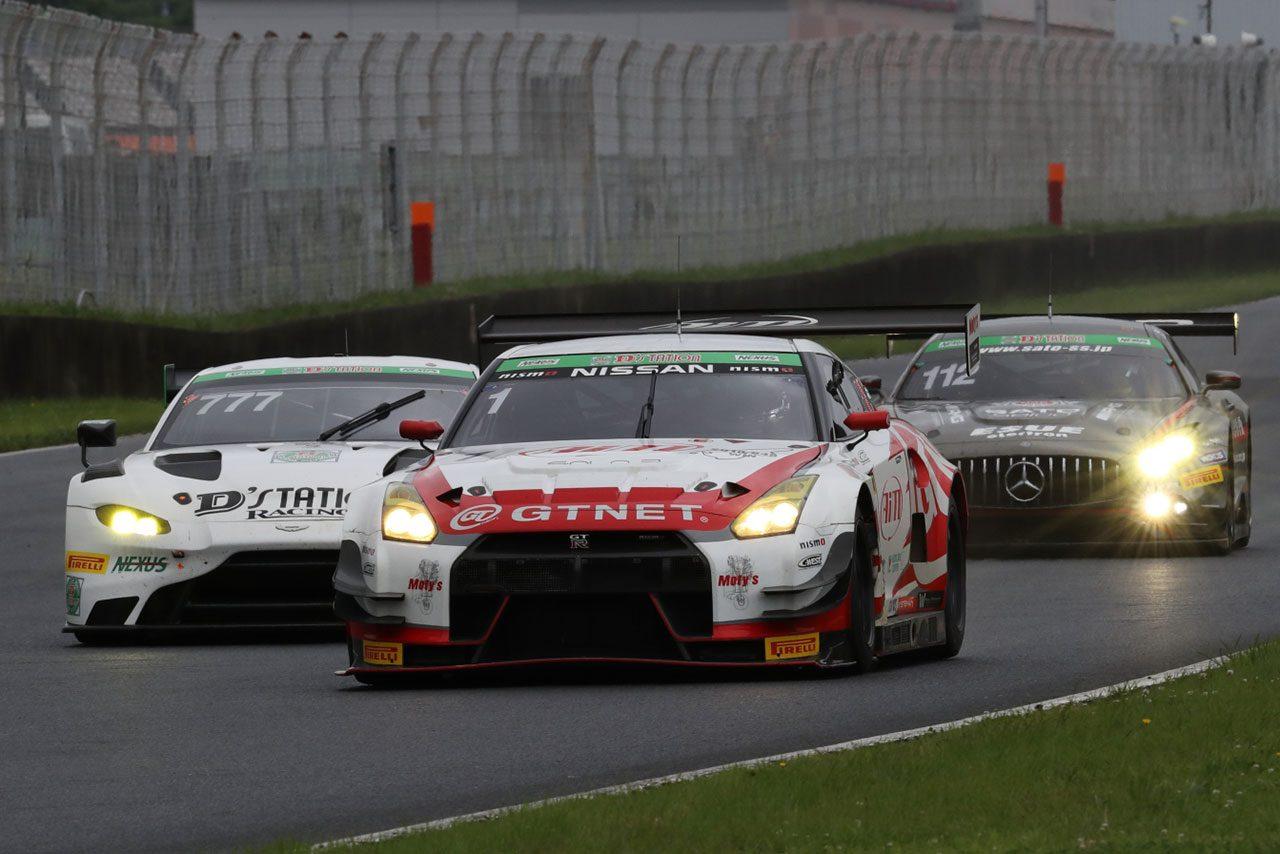 スーパー耐久第4戦AP:1号車GTNET GT-Rが終盤の逆転で3連勝。タイトルに王手をかける