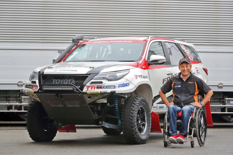 ラリー/WRC | 横浜ゴム、青木拓磨をサポート。アジアクロスカントリーラリーでタイヤ供給へ