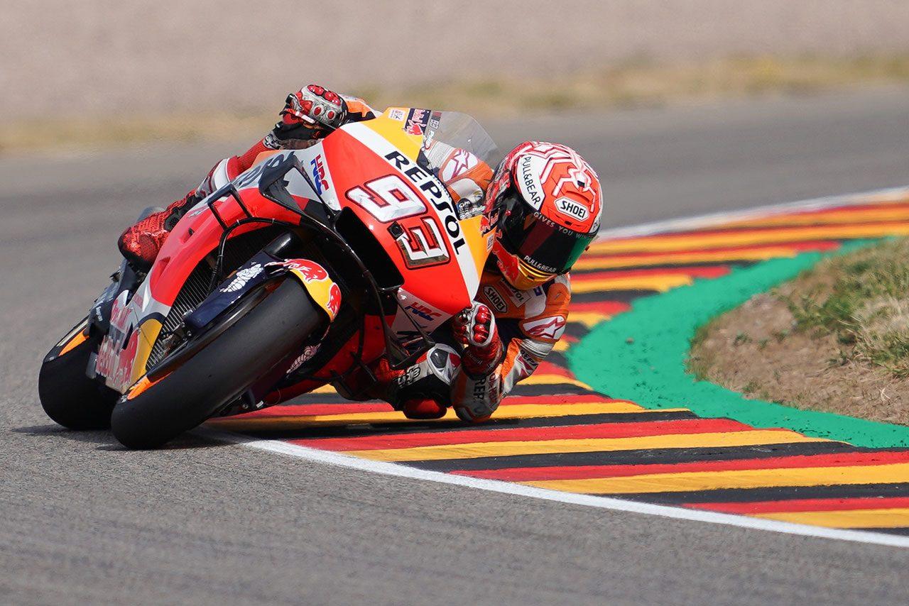 MotoGP:マルケスが語るクラッシュ回数減少の理由とホンダMotoGPマシンの乗り方