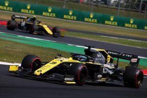 F1 | ルノーF1、イギリスGPではダブルポイント達成もマシンに弱点があることを認める
