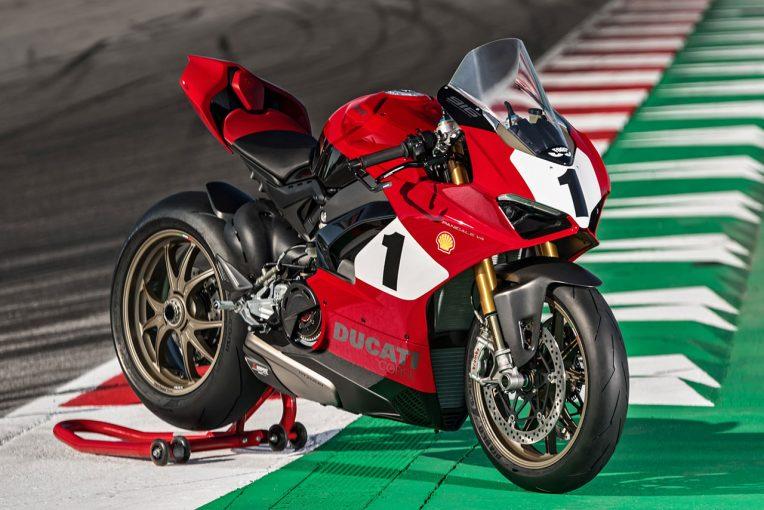 MotoGP | ドゥカティ、916の誕生25周年を記念した『パニガーレV4 25° アニバーサリオ916』を国内で販売。価格は400万円オーバー