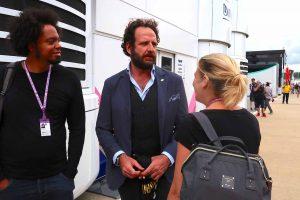 F1 | 【あなたは何しに?】知る人ぞ知る元FIAスポークスマンと久しぶりの再会。いまでは3児のパパに