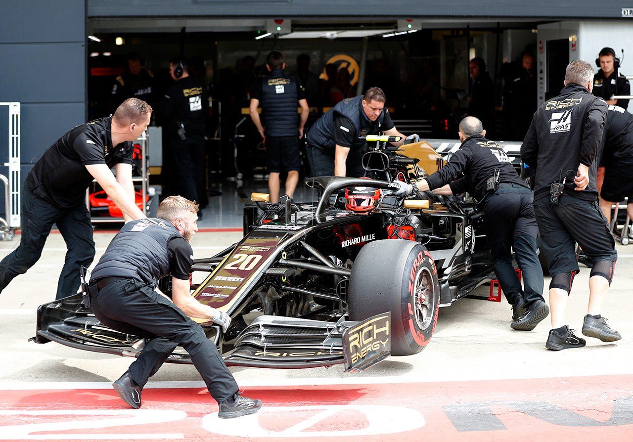 2019年F1第10戦イギリスGP ケビン・マグヌッセン(ハース)