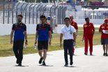 F1 | 山本尚貴がF1ドイツGPに登場、トロロッソ・ホンダとトラックウォーク。「F1の作業について学ぶための訪問」とチーム