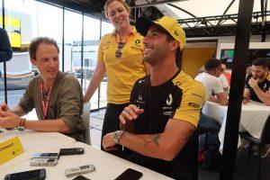 F1 | リカルド木曜インタビュー:前半戦を振り返って、「最悪の週末だったのは、まちがいなく開幕戦」/F1第11戦ドイツGP