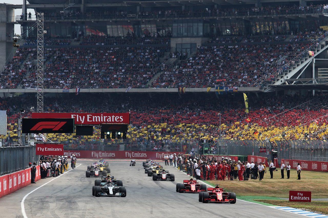 2018年F1ドイツGPスタート