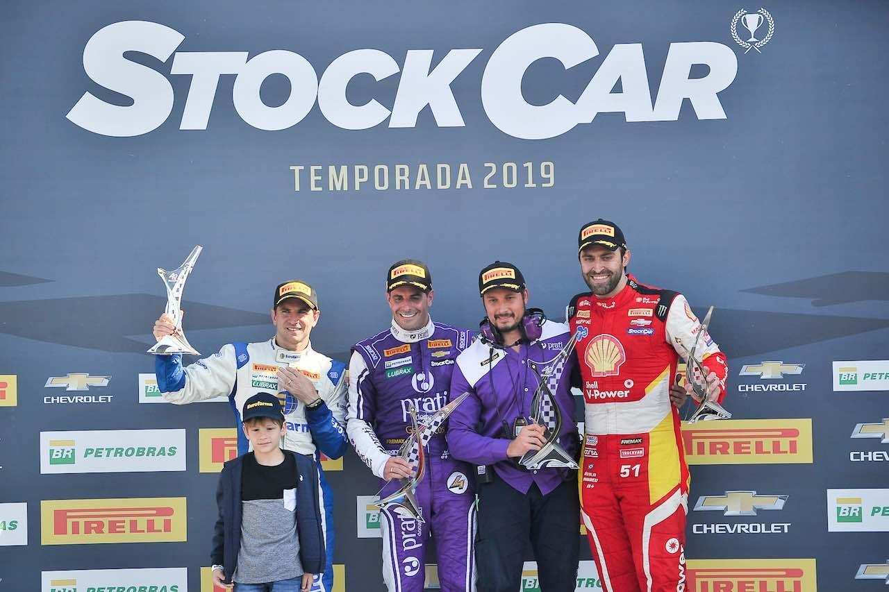 SCB第5戦:フル参戦2年目のネルソン・ピケJr.が、今季初の3位表彰台を獲得