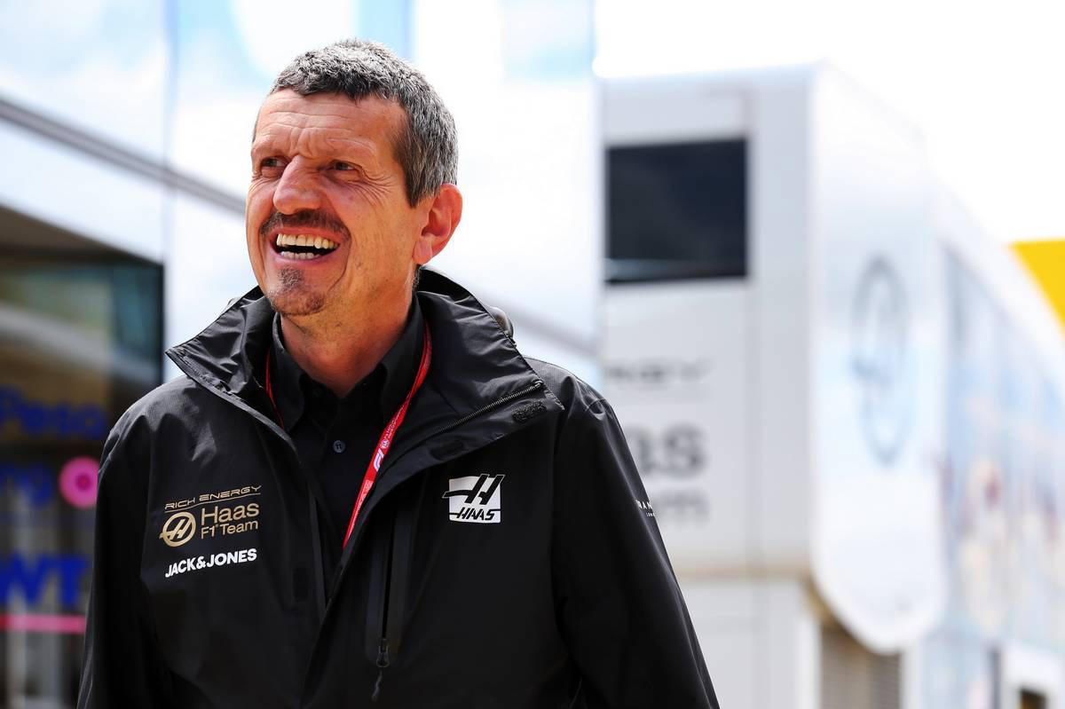 2019年F1第10戦イギリスGP ギュンター・シュタイナー(ハースF1代表)