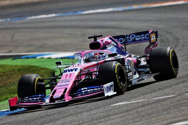 2019年F1第11戦ドイツGP セルジオ・ペレス(レーシングポイント)