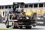 F1   「単純にドライバーのミス」。レッドブルF1首脳陣、ガスリーのクラッシュに苛立ち
