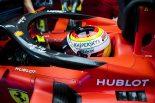 F1 | ベッテル2番手「この熱波でもマシンは問題なし。まだまだ余力がある」フェラーリ F1ドイツGP金曜