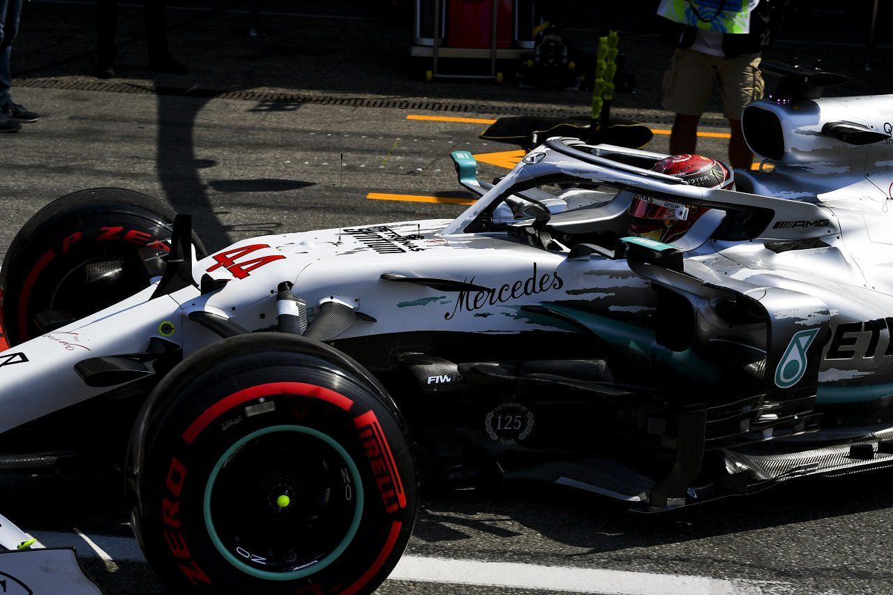 2019年F1第11戦ドイツGP金曜 ルイス・ハミルトン(メルセデス)
