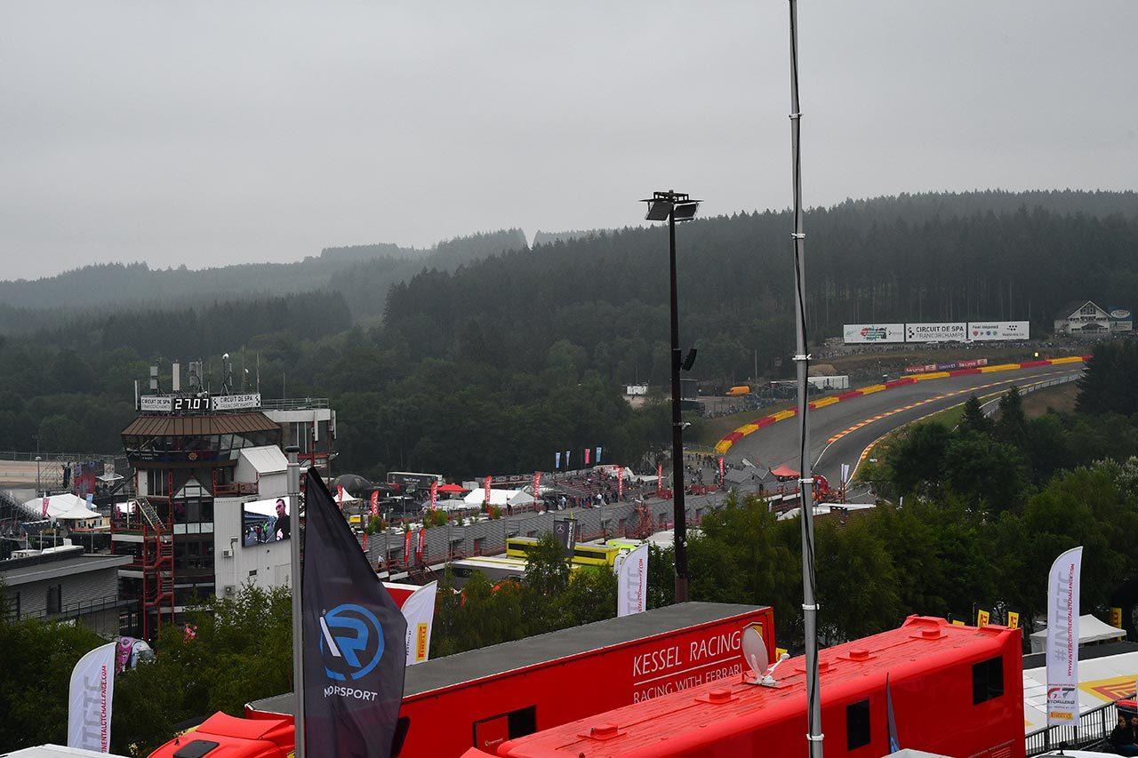 今季のスパ24時間はレースを通じて荒天か。スタート直前から雨の予報