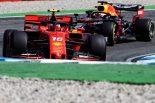 F1 | ルクレールが再びトップ、フェルスタッペンは2番手【タイム結果】F1第11戦ドイツGPフリー走行3回目