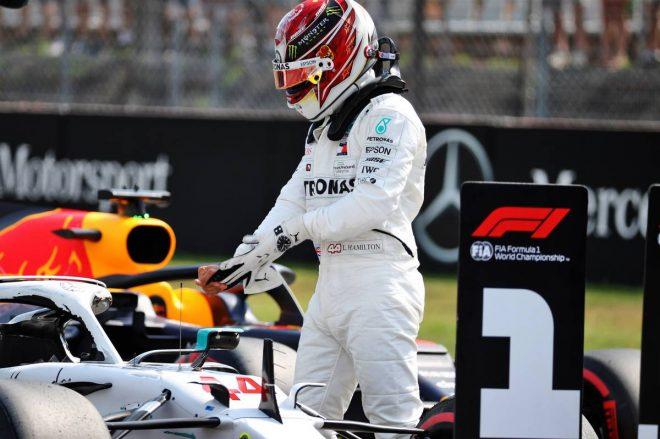 2019年F1第11戦ドイツGP ルイス・ハミルトン(メルセデス)