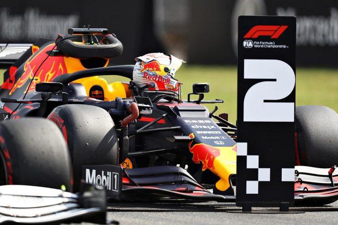 2019年F1第11戦ドイツGP予選で2番手を獲得したマックス・フェルスタッペン