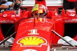 2019年F1第11戦ドイツGP フェラーリのテストドライバーのミック・シューマッハーがフェラーリF2003-GAをドライブ