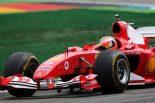 2019年F1第11戦ドイツGP フェラーリのテストドライバーのミック・シューマッハーがフェラーリF2004をドライブ