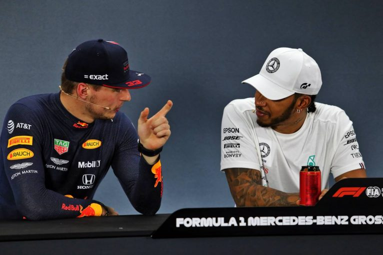 F1 | ハミルトン、フェルスタッペンのメルセデスF1加入を歓迎「彼に勝てる理由を証明するチャンスだ」