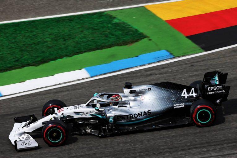 F1 | 【動画】ルイス・ハミルトンの予選ポールラップ/F1第11戦ドイツGP