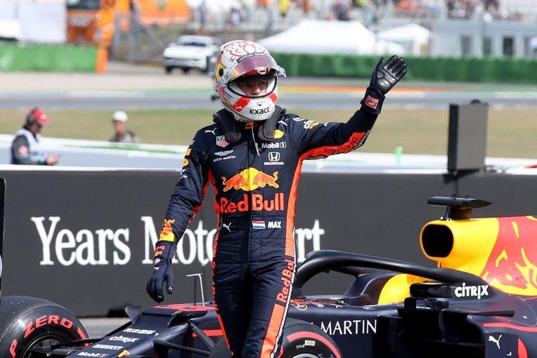 F1   フェルスタッペン「フロントロウならチャンス大。ソフトタイヤスタートが有利になるかも」:レッドブル・ホンダF1