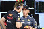 F1 | シャシー交換のガスリーが予選4番手「メカニックの皆の苦労に報いる結果を出せてうれしい」:レッドブル・ホンダF1
