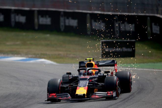 2019年F1第11戦ドイツGP土曜 ピエール・ガスリー(レッドブル・ホンダ)