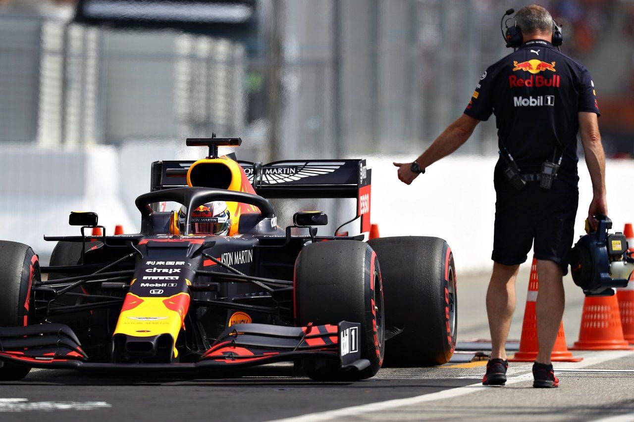2019年F1第11戦ドイツGP予選 マックス・フェルスタッペン(レッドブルRB15・ホンダ)