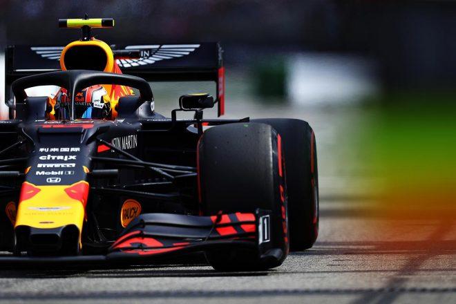 2019年F1第11戦ドイツGP ピエール・ガスリー(レッドブル・ホンダ)は予選4番手