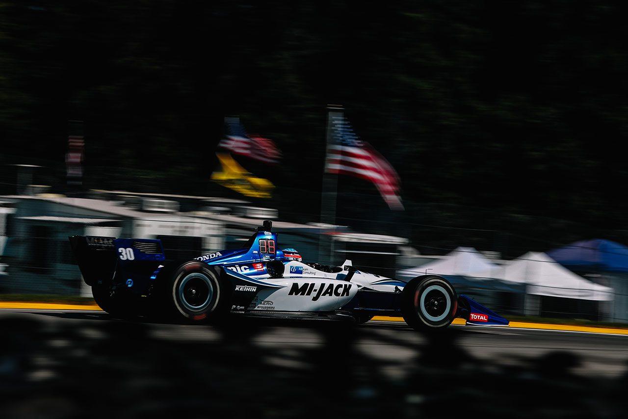 【順位結果】インディカー・シリーズ第13戦ミド・オハイオ予選総合結果