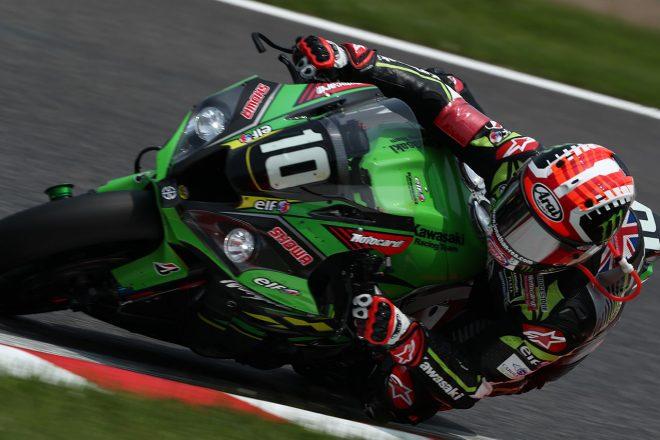 ヤマハ、ホンダを追う3番手のジョナサン・レイ(Kawasaki Racing Team Suzuka 8H)