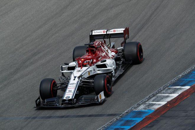 2019年F1第11戦ドイツGP キミ・ライコネン(アルファロメオ)