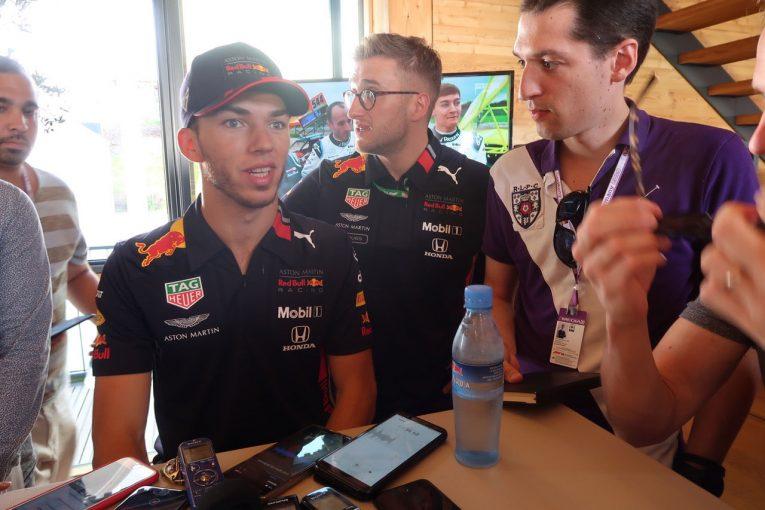 F1 | ガスリー予選後インタビュー:初日クラッシュから一転、自己ベストの4番手「方向性は見えてきた」/F1ドイツGP