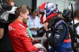 F1 | 2019年F1第11戦ドイツGP セバスチャン・ベッテル(フェラーリ)、ダニール・クビアト(トロロッソ・ホンダ)