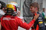 F1 | 2019年F1第11戦ドイツGP マックス・フェルスタッペン(レッドブル・ホンダ)、セバスチャン・ベッテル(フェラーリ)