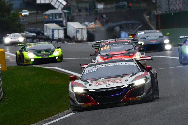 ミスなく戦ったホンダ・チーム・モチュールの30号車ホンダNSX GT3は殊勲の6位に