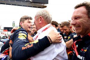 F1 | レッドブル代表「マックスの見事な走りを優秀なクルーが支え、全員で勝利を手繰り寄せた」:F1ドイツGP