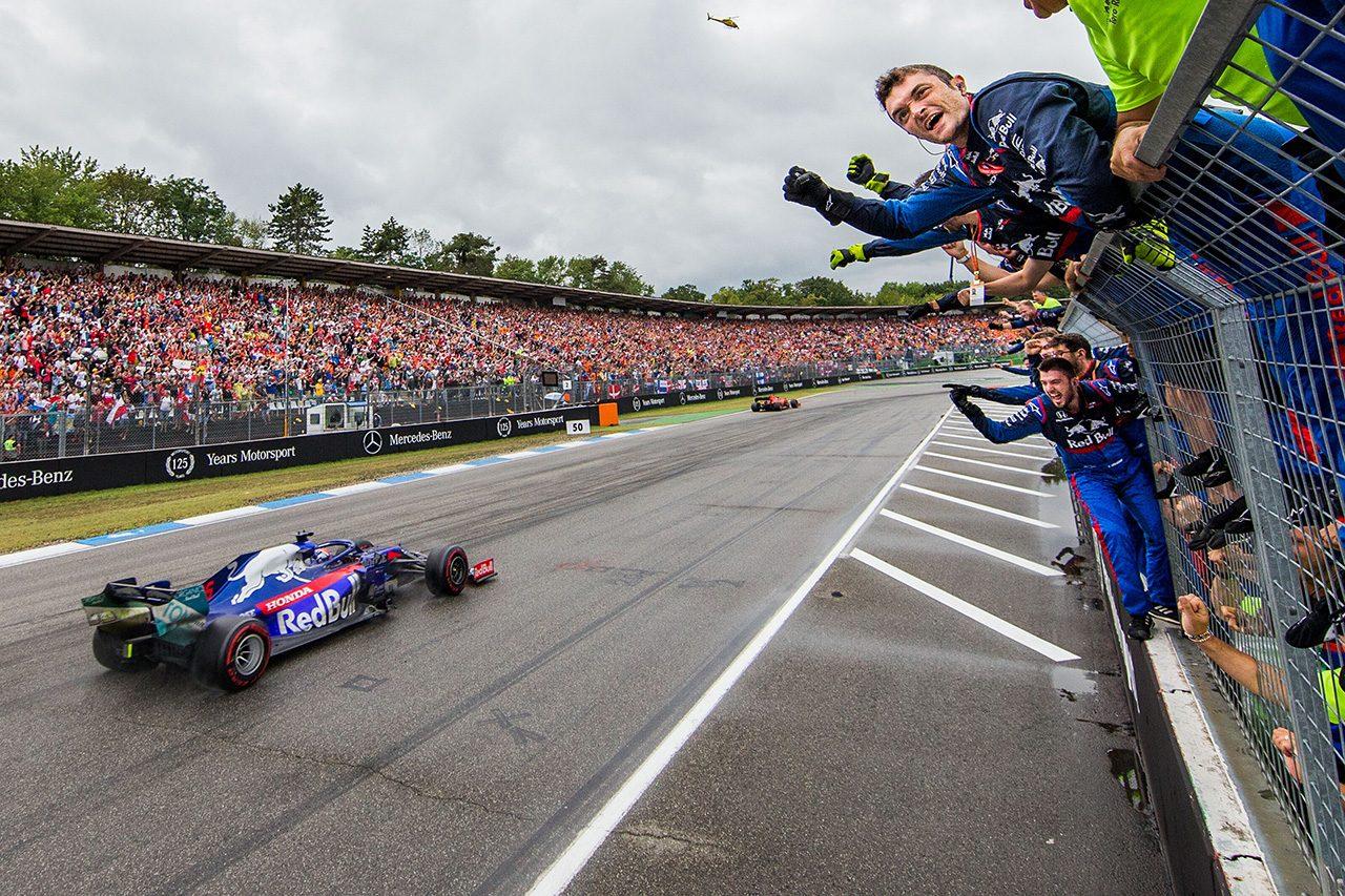 2019年F1第11戦ドイツGP ダニール・クビアト(トロロッソ・ホンダ)