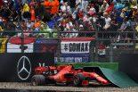 F1 | ルクレール、クラッシュでリタイア「優勝が見えるところまで順位を上げていたのにミスをした」:フェラーリF1