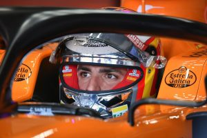 F1 | サインツ「5位に大満足。この難しいコンディションのなか、クレバーなレースができたと思う」:マクラーレン F1ドイツGP