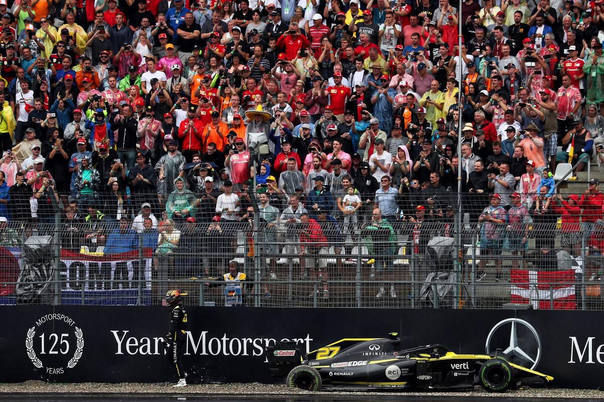 2019年F1第11戦ドイツGP ニコ・ヒュルケンベルグ(ルノー)