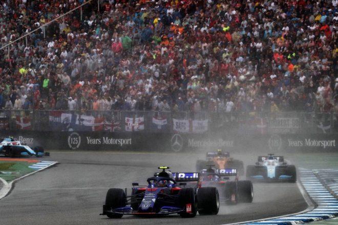 2019年F1第11戦ドイツGP アレクサンダー・アルボン(トロロッソ・ホンダ)はミスのない走りで6位入賞